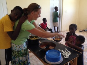 Village Children Feeding Program