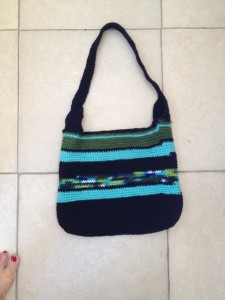 Sample crochet bag/tote