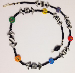Many Colored People Necklace