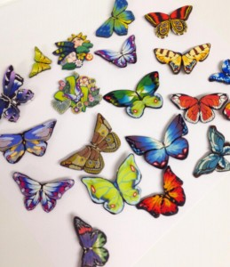 Butterfly Collection Pins